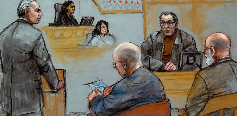 """PHOTO: Stephen """"The Rifleman"""" Flemmi Takes Stand in Bulger Trial"""