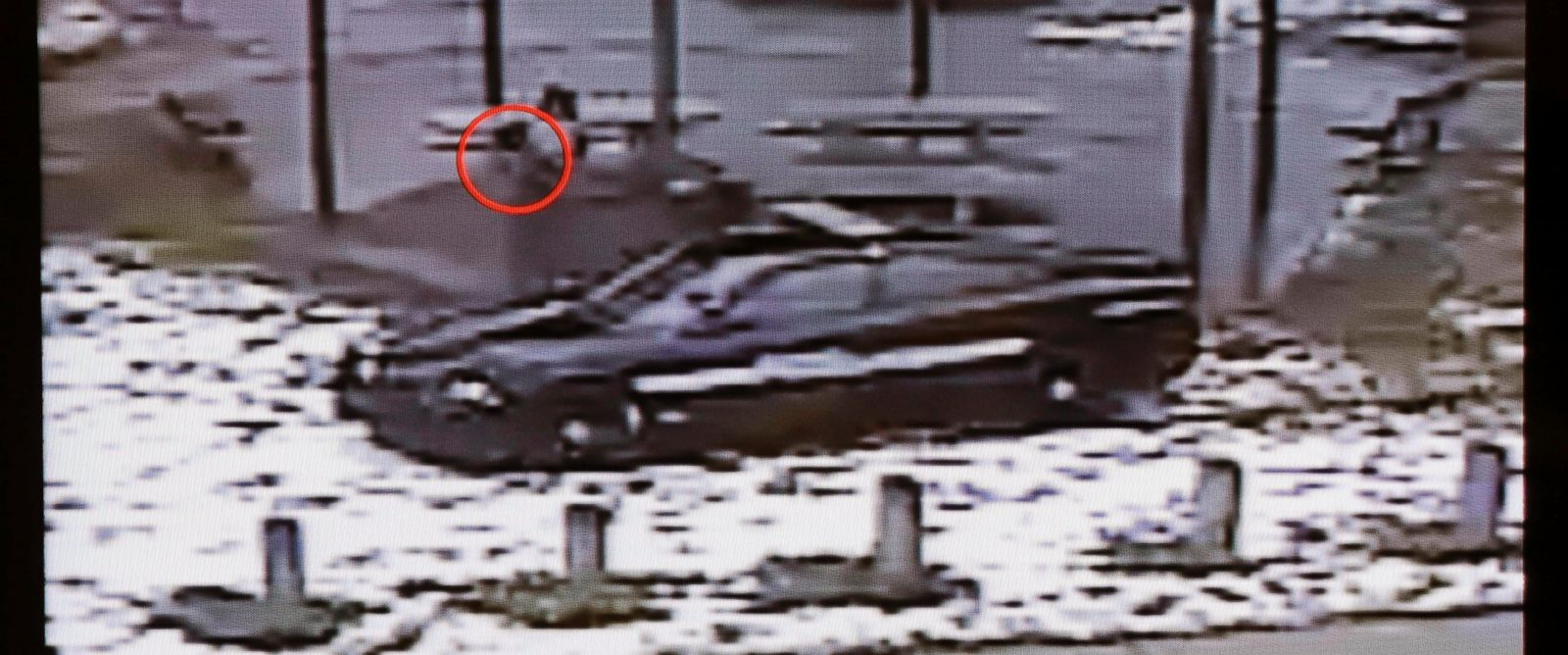 PHOTO: A still image taken from a surveillance video recorded on Nov. 22, 2014, that was played at a news conference held by Cleveland Police. Twelve-year-old Tamir Rice was fatally shot by Cleveland police, after he reportedly pulled a replica gun.