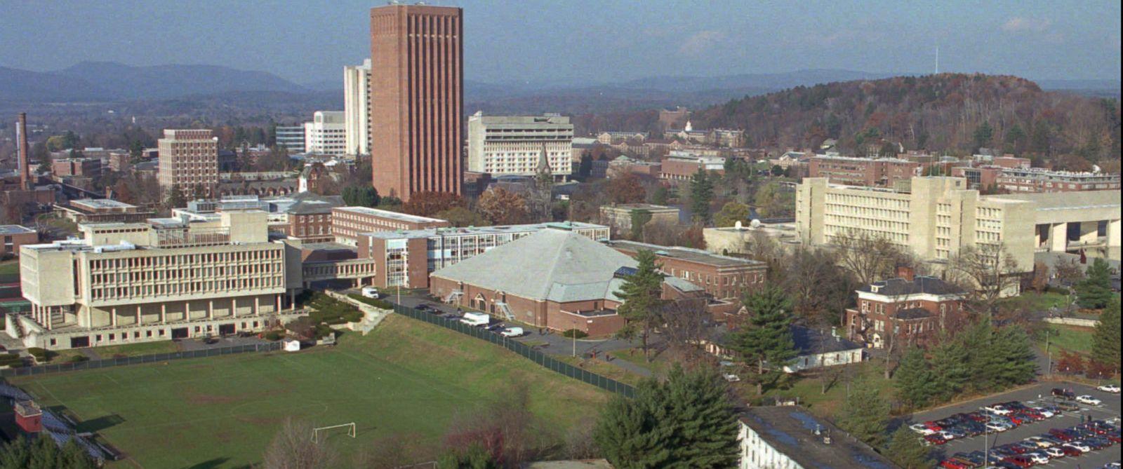PHOTO: UMass at Amherst Campus.