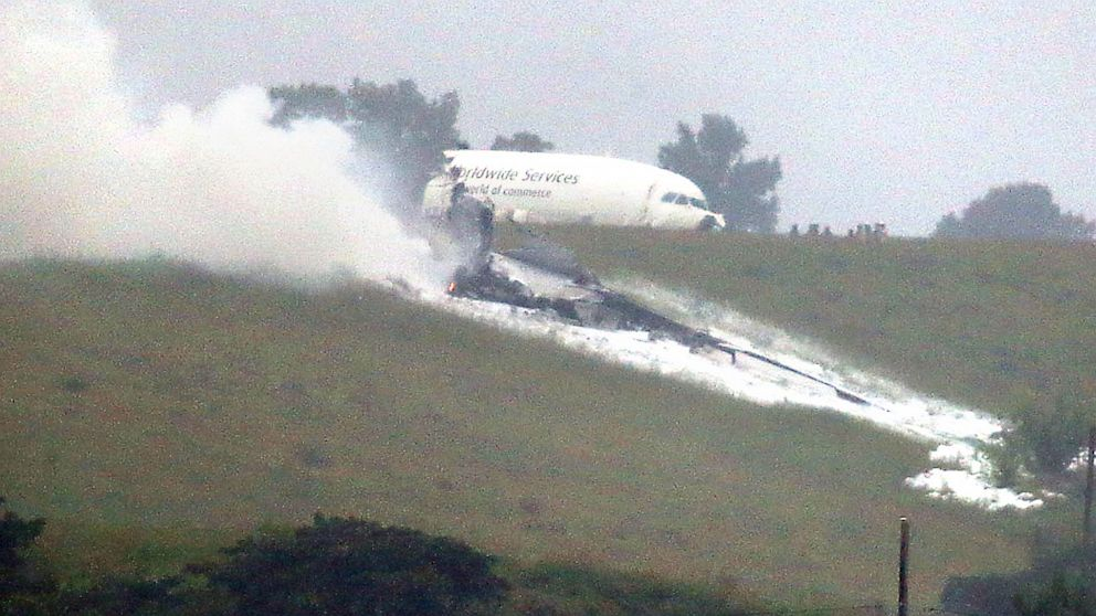 PHOTO: UPS cargo plane crash