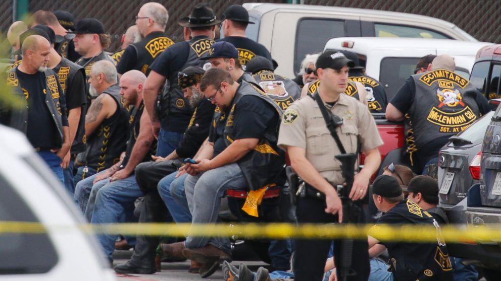 9 Dead In Waco Texas Biker Gang Shooting Cops Say