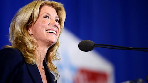 AP wendy davis jef 131004 16x9 608 Hollywood Titans Rake in Cash for Wendy Davis Texas Governors Race
