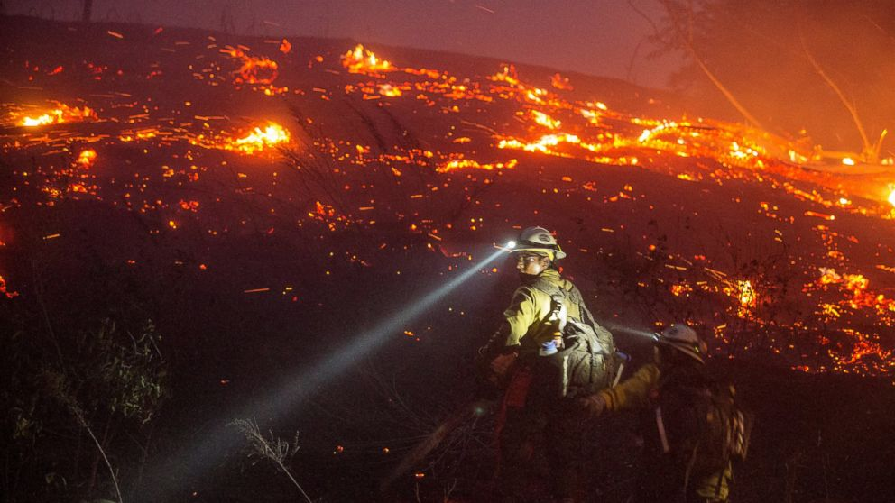 Dramatic Scenes From Washington State Wildfire Abc News