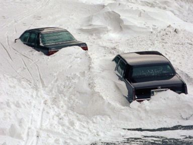 Photos:  The Worst Winter Storms in Photos