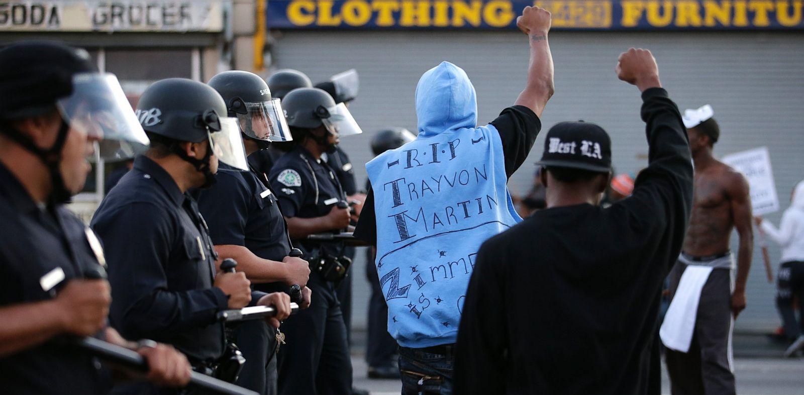 PHOTO: Zimmerman Verdict Protests