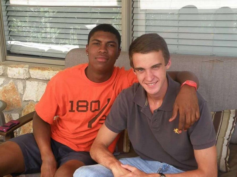 PHOTO: John Gramlich, right, and his friend Bakari Henderson, a 22-year-old who was killed while traveling in Greece.