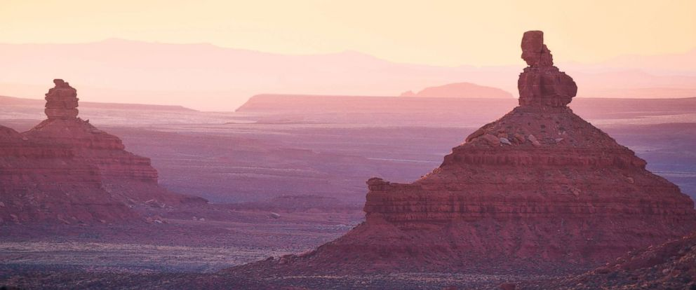 PHOTO: Sunrise in the Valley of the Gods area of Bears Ears National Monument.