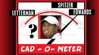 Cad_O_Meter scale. Letterman, Woods, Spitzer, Edwards.