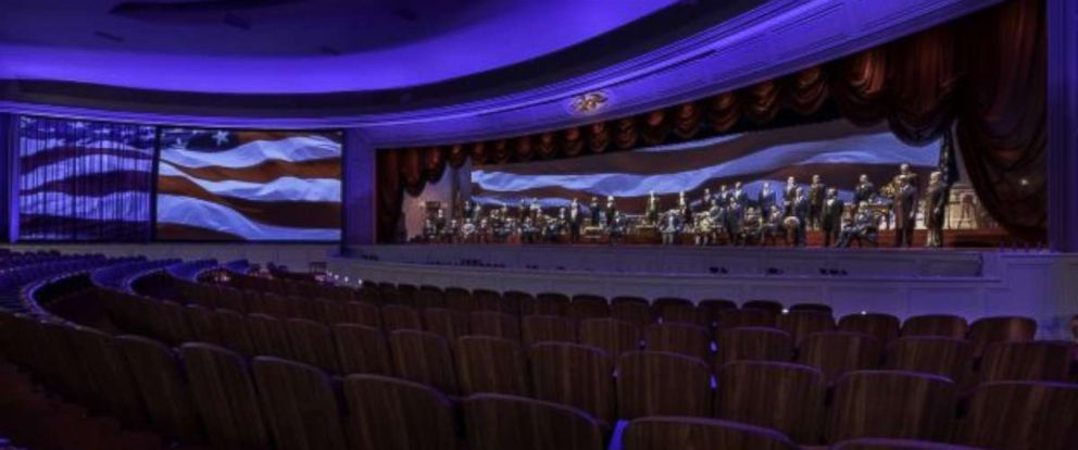 PHOTO: Walt Disney Parks & Resorts shows a preview of its new Hall of Presidents exhibit at Magic Kingdom Park in Orlando.