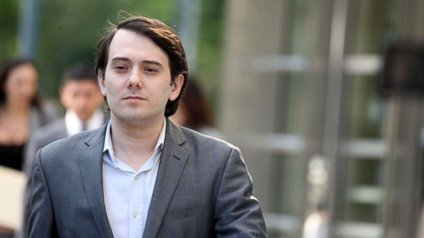 PHOTO: Martin Shkreli, former chief executive of Turing Pharmaceuticals, leaves the U.S. Federal courthouse in Brooklyn, N.Y., June 26, 2017.