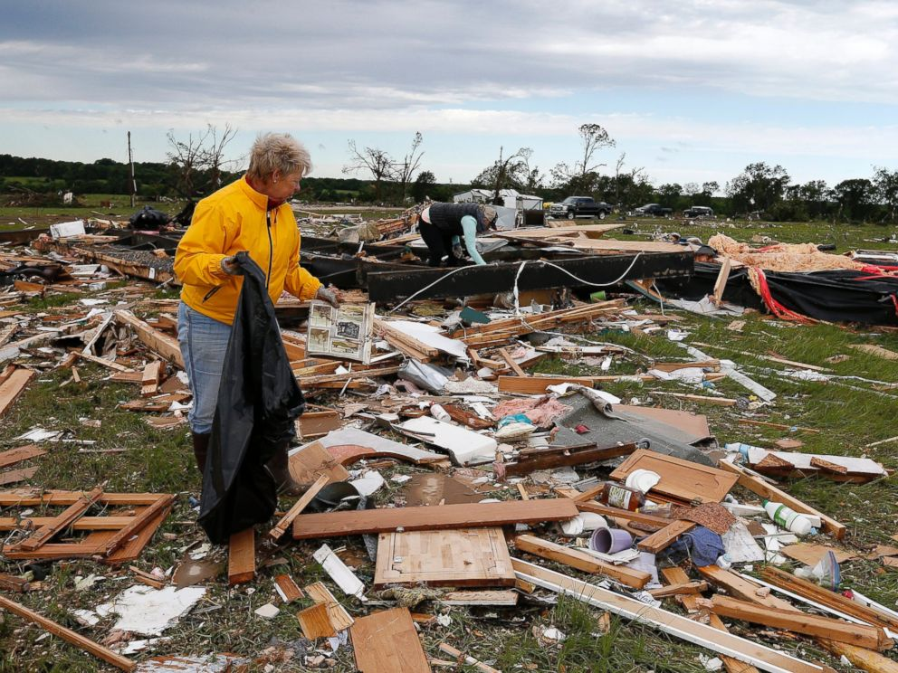 At least 13 killed in weekend storms across four states