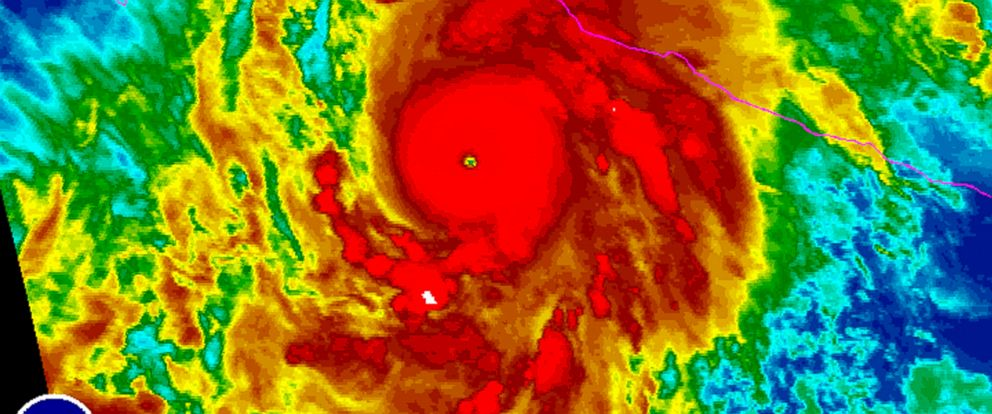 PHOTO: Hurricane Patricia is taking aim on Mexico, with sustained winds measured at 200 miles per hour.