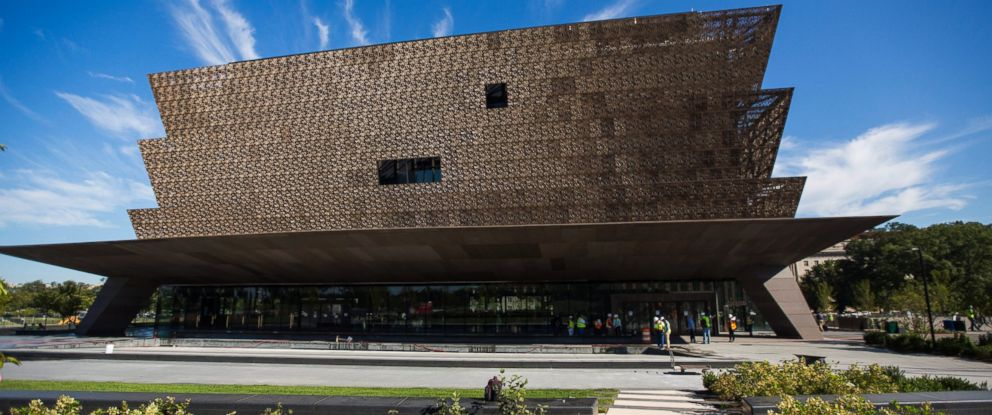 PHOTO: A view of The National Museum of African American History and Culture in Washington, Sept. 14, 2016.