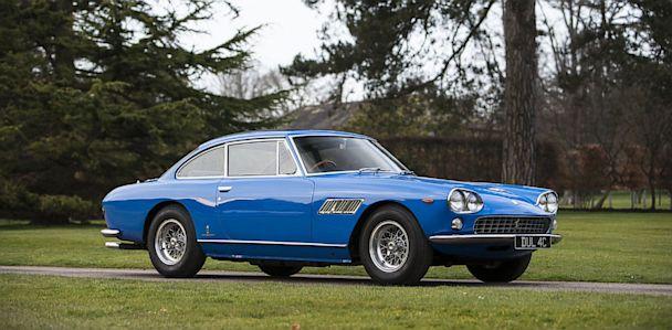 Ex John Lennon 1965 Ferrari 330GT kb 130627 33x16 608 John Lennons Ferrari on Sale