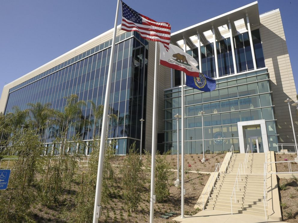 PHOTO: FBI office in San Diego, California.