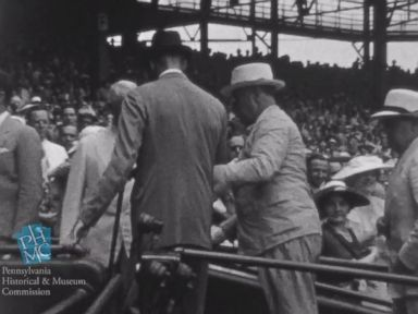 Rare 1937 Film Footage Shows FDR Walking