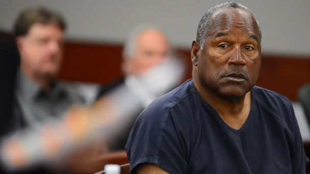 PHOTO: O.J. Simpson appears at an evidentiary hearing in Clark County District Court, on May 14, 2013, in Las Vegas.