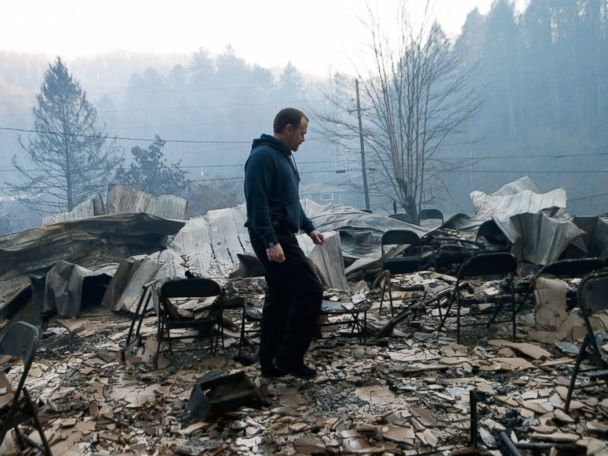 Death Toll in Tennessee Wildfires Rises to 13