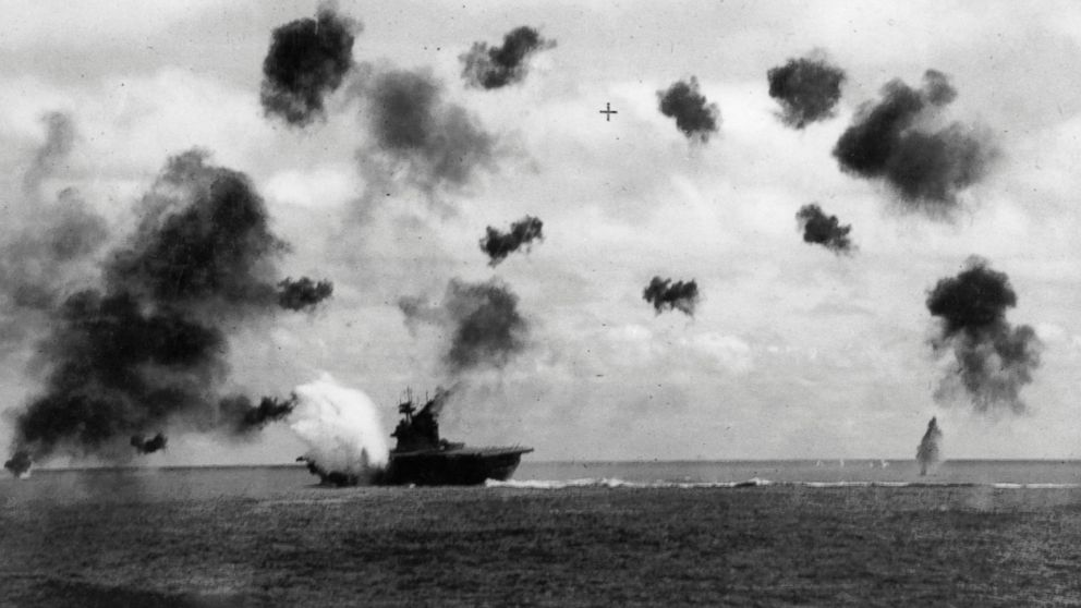 an account of the battle of midway in the pacific in june second nineteen forty two Eyewitness account of the pivotal battle of world war ii in the pacific  on june 4, they discovered  the battle of midway,.