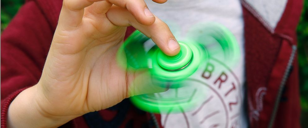 "PHOTO: ""Fidget Spinners"" are being investigated by the Consumer Product Safety Commission after two separate cases of children swallowing parts of the gadget sparked concerns."