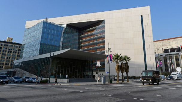 PHOTO: Los Angeles Police Department headquarters is seen in Los Angeles.