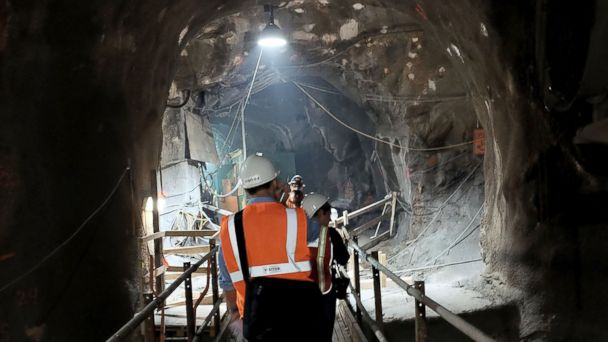 PHOTO: People walk in a tunnel of the East Side Access project, Nov. 4, 2015, in New York City, file photo.
