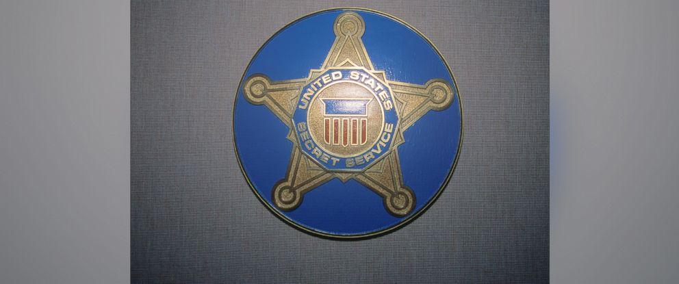 PHOTO: U.S. Secret Service shield is pictured.
