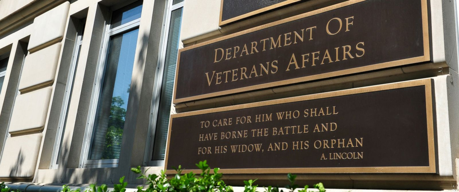 PHOTO: The Veterans Affairs building in Washington, DC.