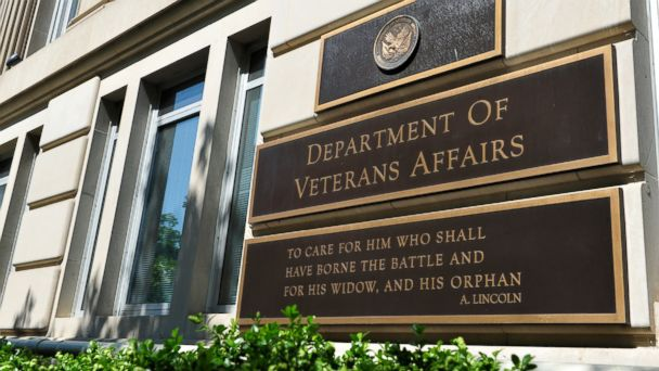 PHOTO: The Veterans Affairs building in Washington, DC.