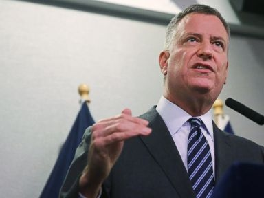 NYC Mayor Says He Has Moved Past Police Crisis
