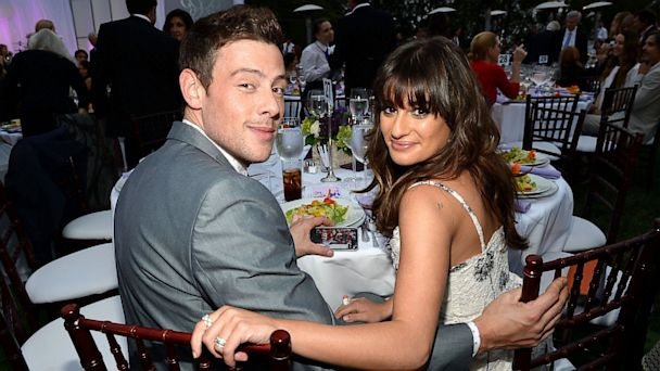 GTY Cory Montieth Lea Michelle nt 130715 16x9 608 Lea Michele Says She Wrote Song for Cory Monteith as Therapy