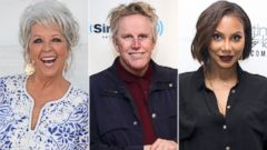 PHOTO: Paula Deen, Gary Busey and Tamar Braxton will compete on the 21st season of ABCs Dancing With the Stars. The celebrity cast appeared on Good Morning America on Sept. 2, 2015