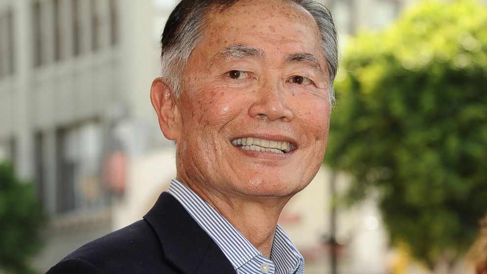 PHOTO: George Takei attends Walter Koenigs induction into the Hollywood Walk of Fame, Sept. 10, 2012 in Hollywood, Calif.