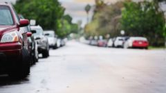 PHOTO: Parked cars are seen on a street in this undated stock photo.
