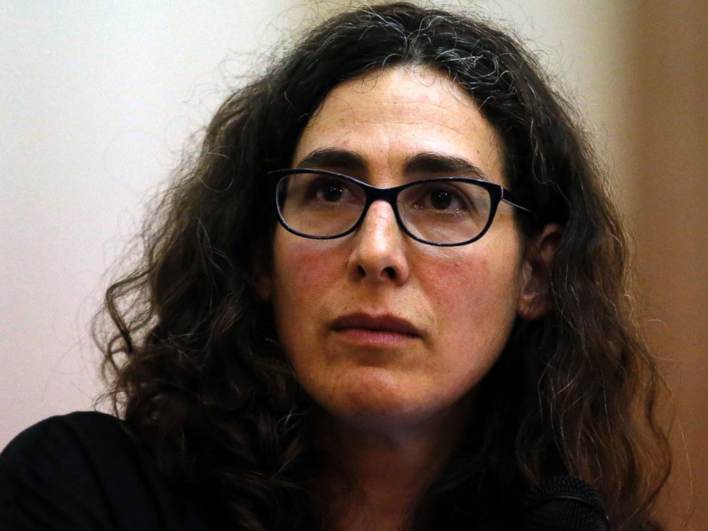 PHOTO:In this file photo, Sarah Koenig, producer and host of the podcast Serial speaks at Boston Universitys Power of Narrative conference in Boston, March 29, 2015.
