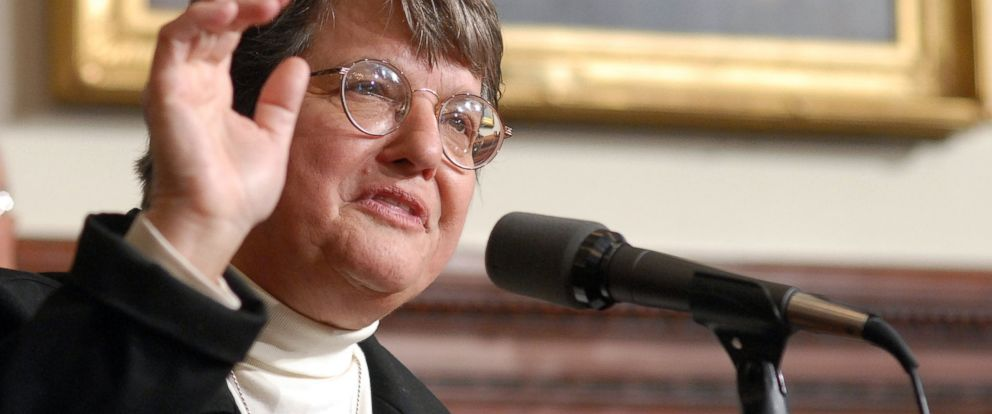 PHOTO: Sister Helen Prejean is seen here in this Dec. 17, 2007 file photo at the State House in Trenton, N.J.