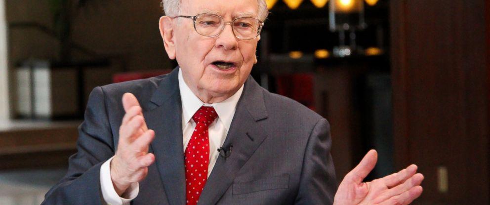 PHOTO: Warren Buffett is seen here in this Feb. 29, 2016 file photo.