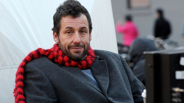 "PHOTO: Adam Sandler on the set of ""The Cobbler,"" Nov. 19, 2013, in New York City."