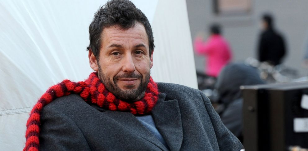 PHOTO: Adam Sandler on the set of The Cobbler, Nov. 19, 2013, in New York City.