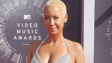 PHOTO: Amber Rose arrives at the 2014 MTV Video Music Awards on Aug. 24, 2014 in Inglewood, Calif.