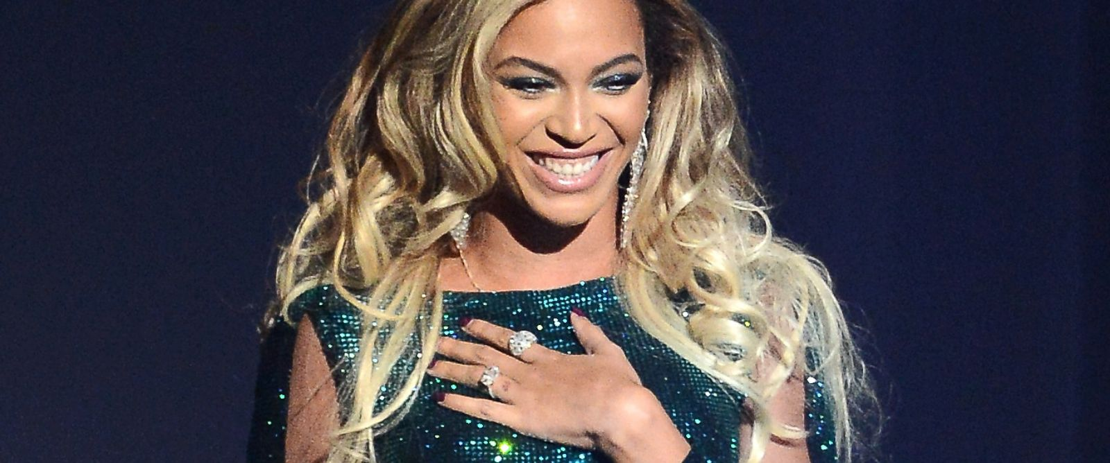 PHOTO: Beyonce performs at The BRIT Awards 2014 at 02 Arena on Feb. 19, 2014 in London.