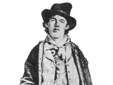 PHOTO: Billy the Kid, American gunman and outlaw, (1877-1881)