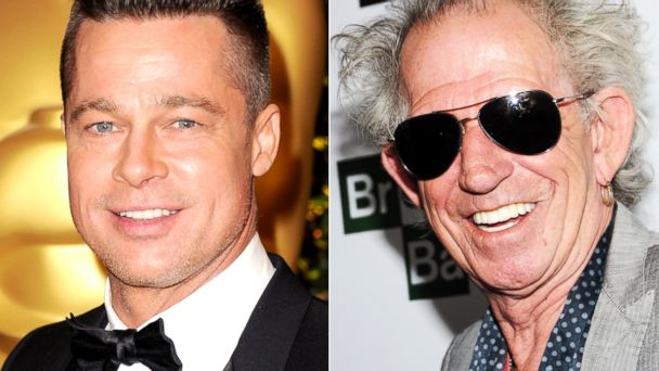 GTY brad pitt keith richards sk 131218 16x9 608 Instant Index: Brad Pitt, Keith Richards Celebrate Milestone Birthdays