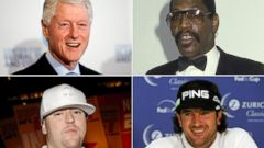 PHOTO: Clockwise from left, Bill Clinton, Bubba Smith, Bubba Watson and Bubba Sparxxx.