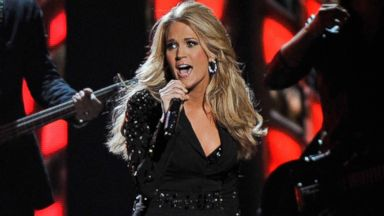 PHOTO: Carrie Underwood performs during the 47th annual CMA awards at the Bridgestone Arena, Nov. 6, 2013, in Nashville.