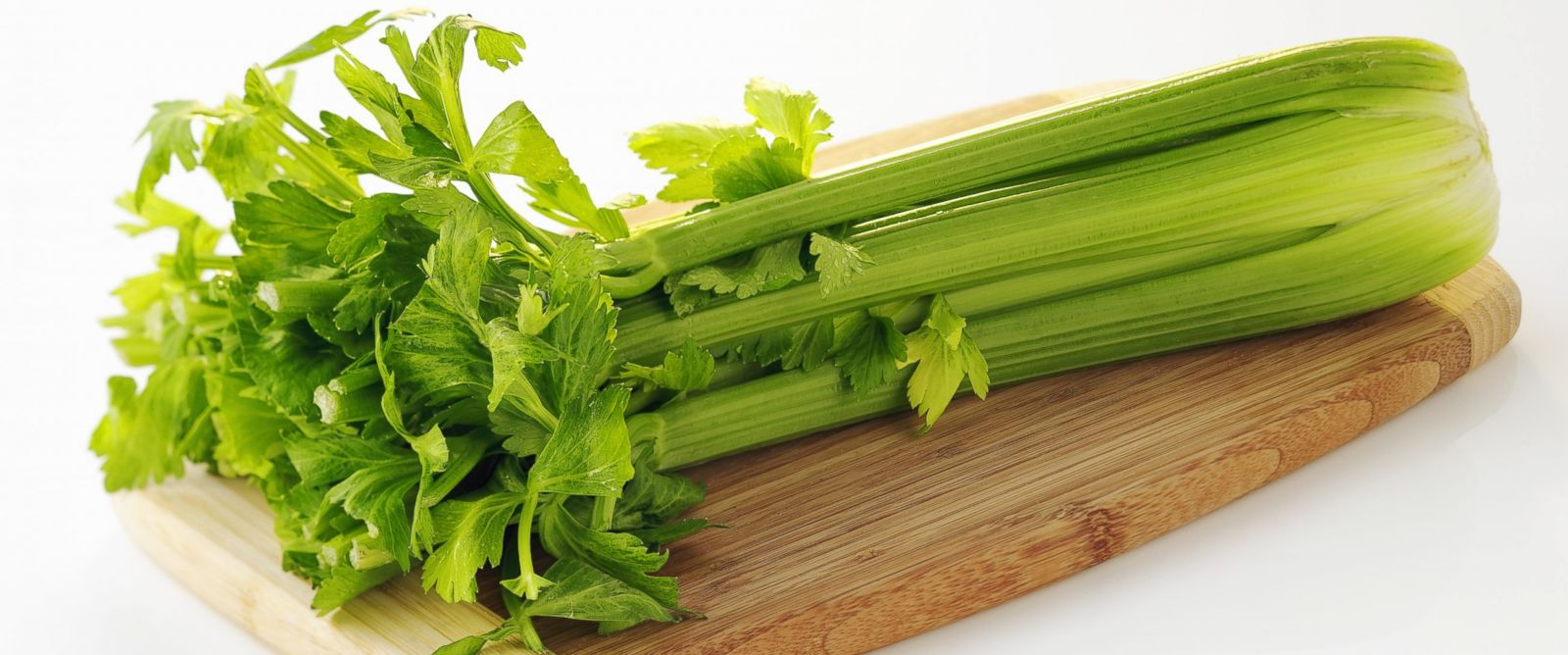 PHOTO:Celery is seen on a cutting board in this file photo.