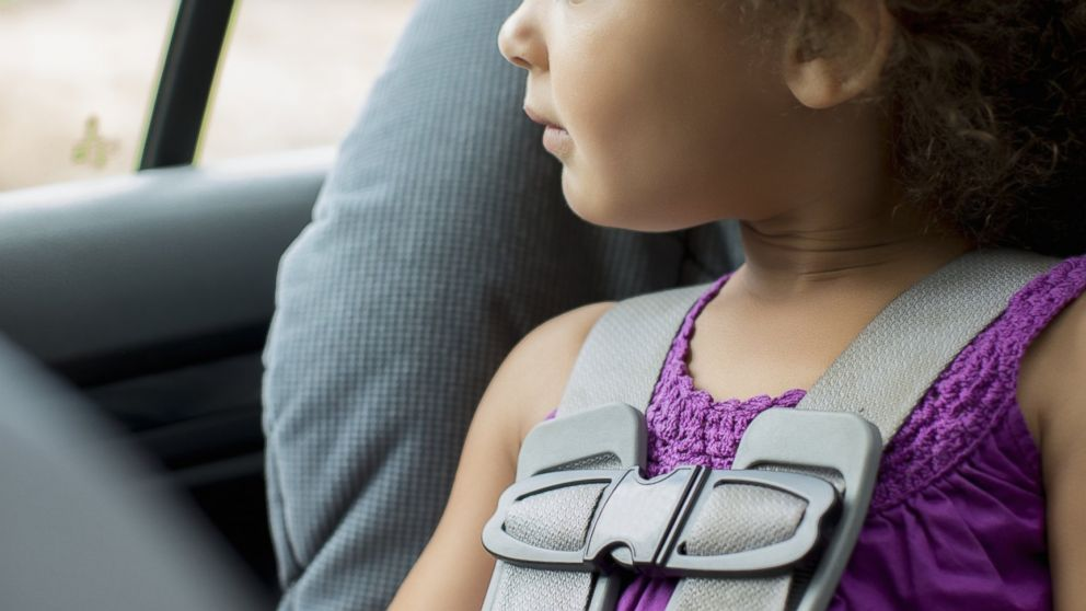 PHOTO: A child is pictured sitting in a carseat in this stock image.