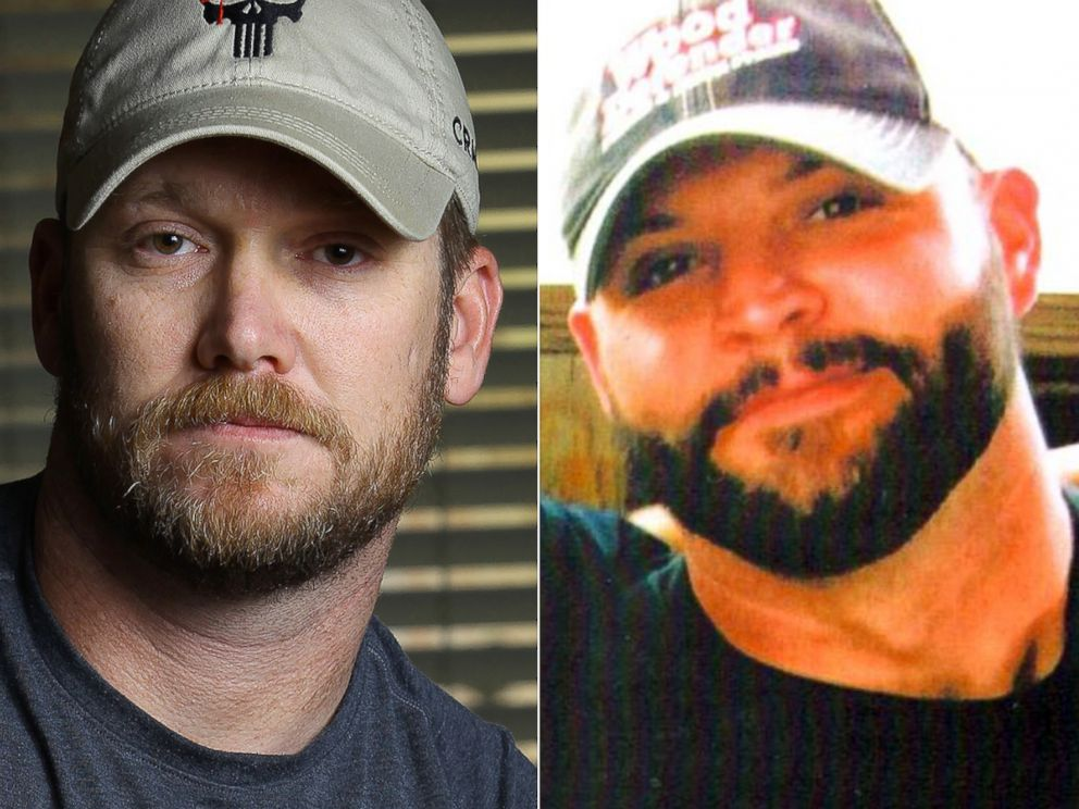 PHOTO: Chris Kyle, left, and Chad Littlefield, right, are pictured.