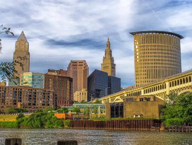PHOTO: The Cleveland skyline is pictured in this stock image.