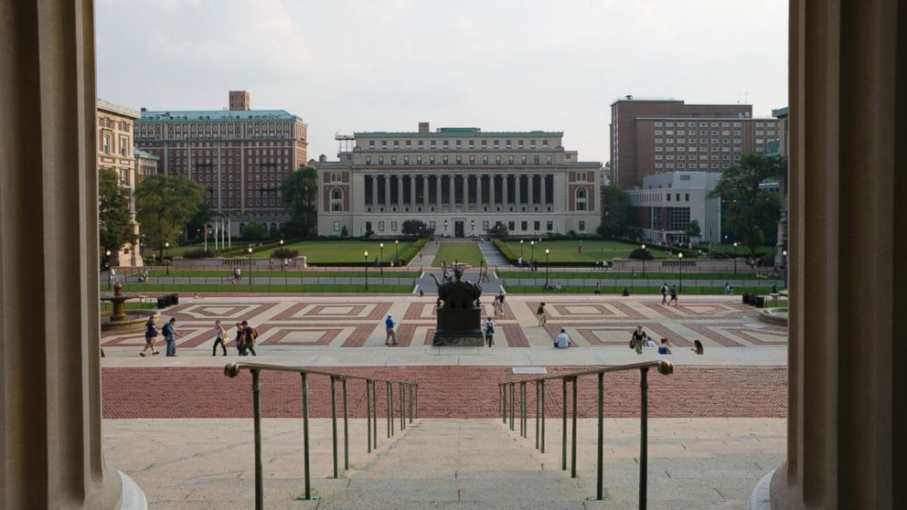 PHOTO: Students at Columbia University in New York City wrote on school bathroom walls and distributed flyers featuring the names of four alleged sexual predators.